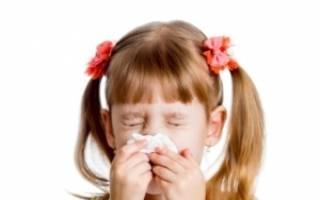 Аллергия на продукты питания у детей