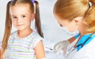 Прививки перед школой в 7 лет