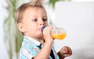 Какого месяца можно давать сок ребенку