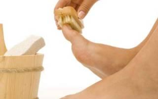 Уход за ногтями ног при грибке