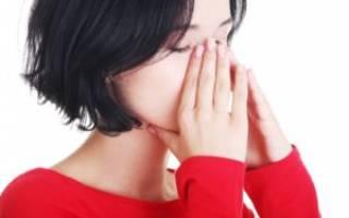 Киста в гайморовой пазухе симптомы и лечение