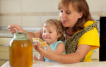 Какой мед можно давать детям