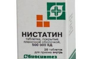 Нистатин против грибка стопы