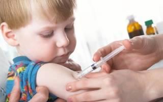 Прививки после трех лет