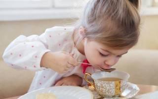Можно ли детям давать черный чай