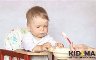 Когда можно давать ребенку манку