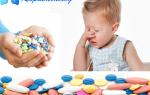 Какие антибиотики можно давать детям при кашле